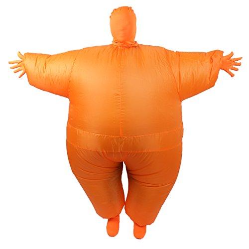 Gazechimp Döbel Aufblasbare Kostüm Anzug - (Luftschiff Halloween Kostüm)