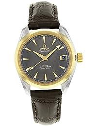 Omega Aqua Terra 231.23.39.21.06.002Acero y Oro Automático Reloj para hombre