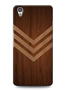 SKIMIJO Designer Printed Vintage wooden back case cover for OnePlus X