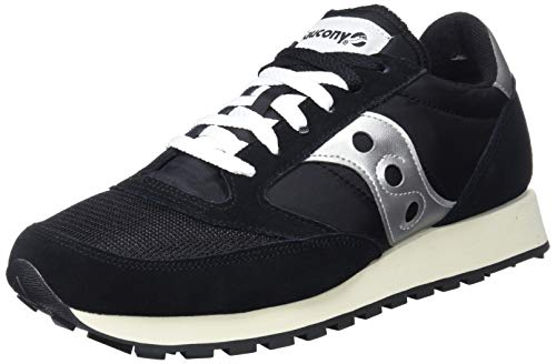Saucony Jazz Original Vintage, Zapatillas de Cross Unisex Adulto, Negro (Black/White), 41 EU
