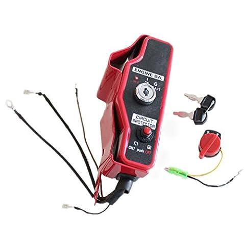 AISEN ELECTRIC START CONTROL BOX & 2 KEYS FITS HONDA
