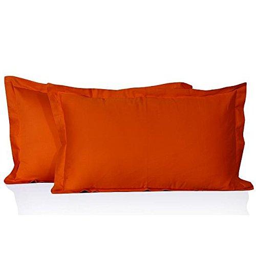 Neue Fadendichte 300 ägyptische Baumwolle-Kissenbezug, 300TC, 100% Baumwolle, Orange,