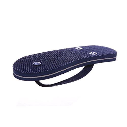 its me It´s Me | Flip Flop | Jetzt Aus Natur-Kautschuk | 0% PVC | Rutschfest und Weich | gesundheitlich unbedenklich | Kautschuk Passt Sich der Form Deines Fußes An | Fühle Den Unterschied ! Blau