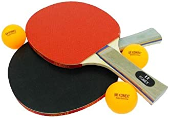 Konex Table Tennis Combo (2 TT rackets & 3 TT balls)