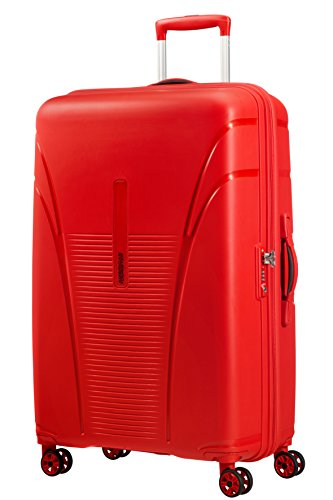 American Tourister Skytracer Valise 4 Roues, 78 cm, 94 L, Formula Red