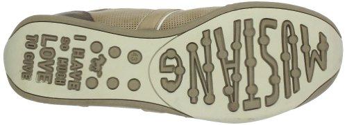 Mustang Sneaker 1090-302 Damen Schnürhalbschuhe Braun (hellbraun 333)