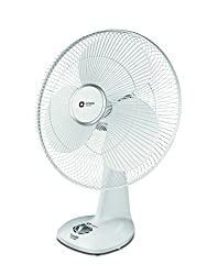 Orient Electric Snowfall 16TC01 400mm Table Fan (White)