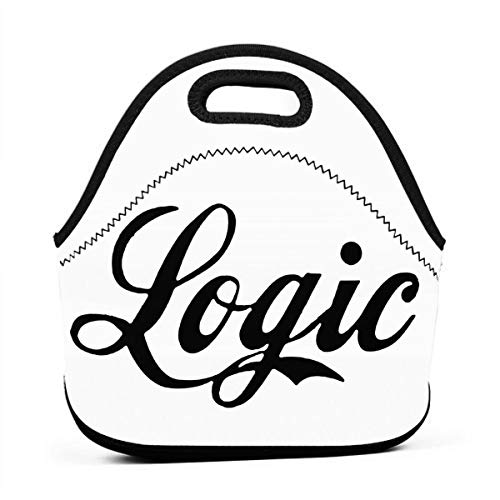 Logic Lunch Bag Tote Bag Lunch Bag Lunch Box Insulated Lunch Container