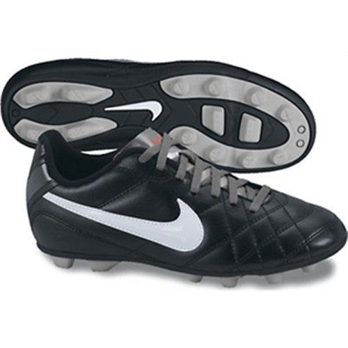 Nike - Jr Tiempo Rio Fg R, Scarpe sportive Bambino Nero / Bianco / Grigio