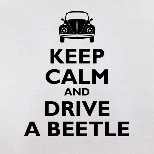 Keep Calm and Drive A Beetle - Herren T-Shirt - 13 Farben Weiß