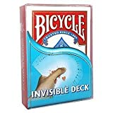 INVISIBLE DECK, Unsichtbares Kartenspiel - Kartentricks von Bicycle
