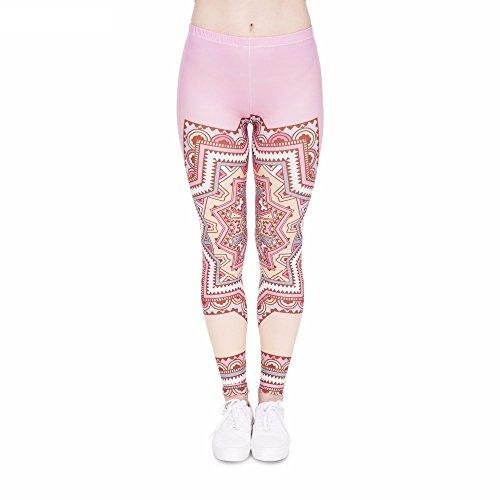 007f73a3442c43 Bunte Damen Leggings Hose Einheitsgröße S-L | Mädchen Leggins bedruckt in  verschiedenen Muster | Yoga Pants