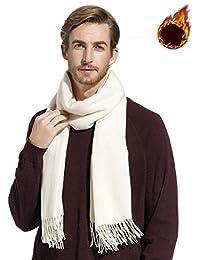 37beb21f551f Gogogoal Écharpe en cachemire Châle Pashmina foulard Femme Homme, Longug,  Chaleureux, grande 80