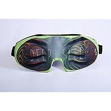 Madtrip Deep Sleeping Eye Mask - Florescent Gr Version