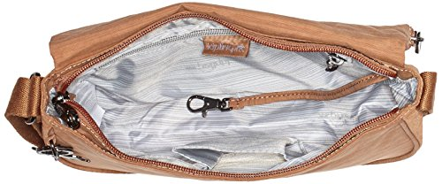 Kipling - Earthbeat S, Borse a tracolla Donna Marrone (Dazz Tan)