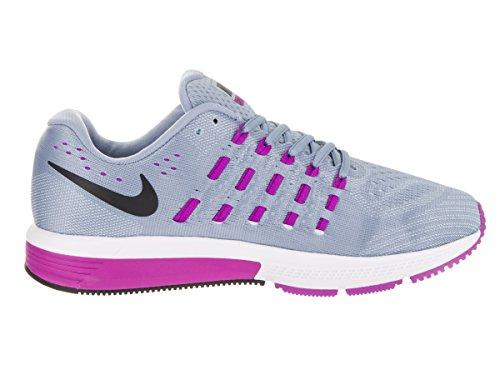 Nike W Air Zoom Vomero 11 (W), Chaussures de Running Entrainement Femme Bleu - Azul (Blue Grey / Blk-Hypr Vlt-Bl Tnt)