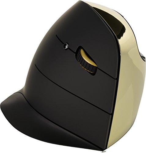 Evoluent Vertical Wireless C Maus für Rechtshänder Gold