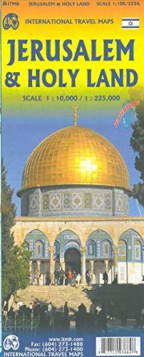 Jerusalem 1 : 10 000 & Holy Land Map 1 : 225 000