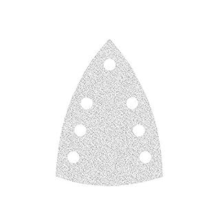 50 MioTools Klett-Schleifblätter für Deltaschleifer 150 x 100 mm - Korn 80-7-Loch