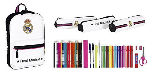 Real Madrid - Triple Pencil Case Pocket With 3 full packs - 411457747