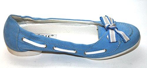 Cherie enfants Chaussures Filles Ballerines 7763(sans Carton) Bleu - Bleu