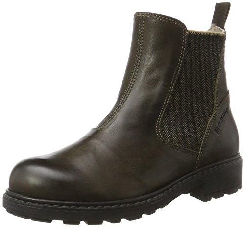 Momino Unisex-Kinder 2446MS Chelsea Boots, Grün (Military), 40 EU (Kinder Military Stiefel)