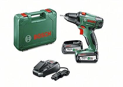 BOSCH 0 603 973 40P Atornillador/Taladro con bateria de Litio, 36 W, Negro, Verde, 14.4 V