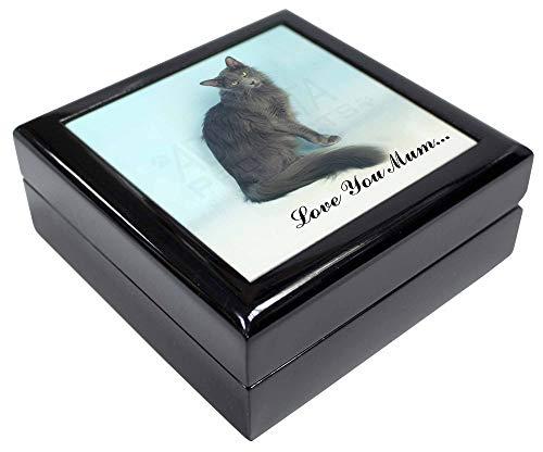 Advanta - Jewellery Boxes Javanese-Katze 'Love You Mum' Andenken/Schmuck Box Weihnachten Geschenk -