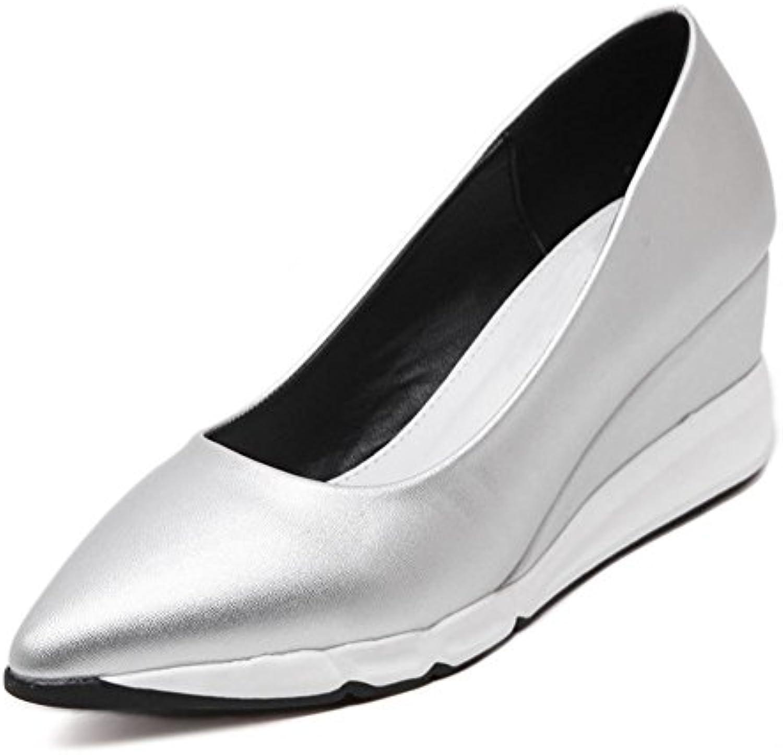 4c9bad575318cf Mme Spring a chaussures chaussures d'ascenseur pente épaisse  croûte croûte croûte muffin avec des chaussures à  talons hauts.