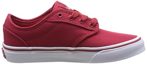 Vans Y Atwood, Baskets mode mixte enfant Rouge (Red/Wh)