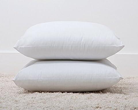 Superior 6 PACK Luxury Cotton Blend Bounce Back Fibre Cushion