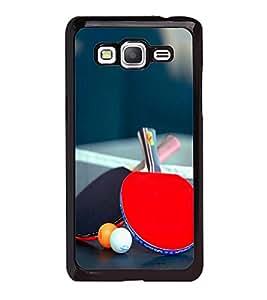Fuson Designer Back Case Cover for Samsung Galaxy Grand 3 :: Samsung Galaxy Grand Max G720F (Table Tennis Game Sport Table Rackets)