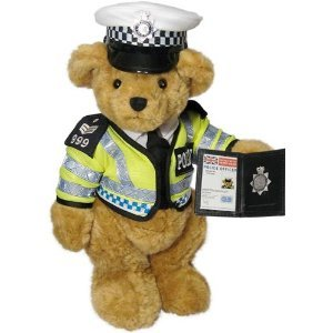 The Traffic Bobby Teddy Bear – the Great British Teddy