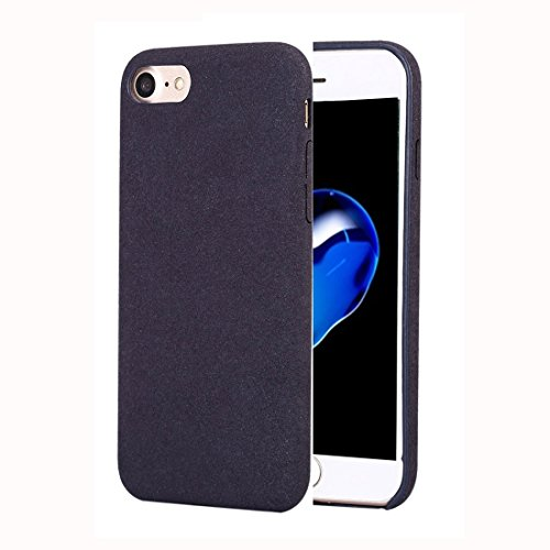 RBERJ Hülle Für iPhone 7 Ultra Fiber + PC Protective zurück Fall Mode Telefon Fall Handyhülle (Farbe : Dunkelblau)