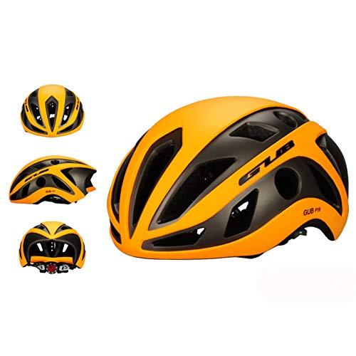 ZMHX Helm Verdicken Sie Rennradhelm Radfahren Fahrrad SportIn-Mold Helm 56-61Cm Verdickt Eps-Schaum Lüftungsschlitze Nummer 22 58 Chocolate Mold