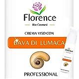 Crème pour visage à base de bave d'escargot à l'acide hyaluronique, à l'extrait...