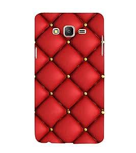 PrintVisa Stylish Square Pattern 3D Hard Polycarbonate Designer Back Case Cover for Samsung Galaxy On5