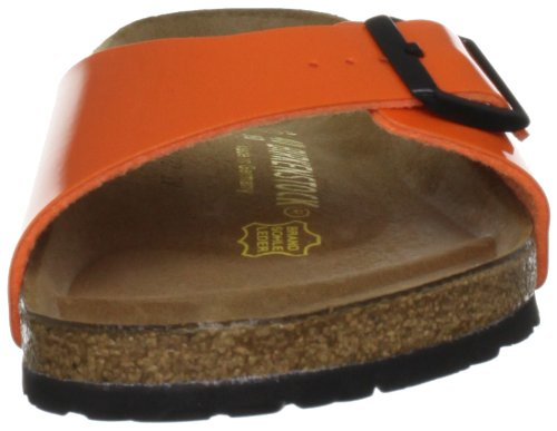 Birkenstock Madrid, Mules Orange Patent