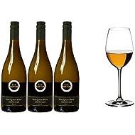Kim Crawford Marlborough Sauvignon Blanc 2015 Wine 75 cl (Case of 3) and Riedel Vinum Sauvignon Blanc Set of 2 Glasses