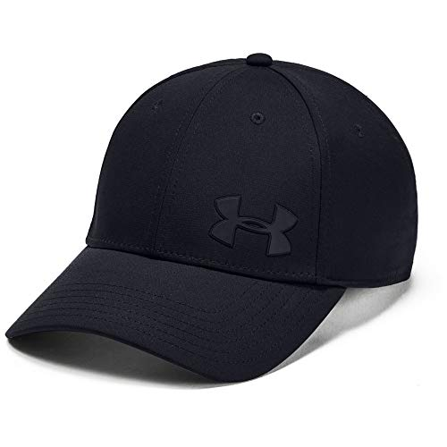 Imagen de under armour men's headline 3.0 cap , hombre, negro black/black/pitch gray 001 , l/xl