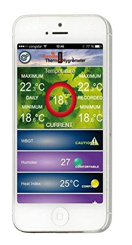 TFA 30.5034.02 Dostmann DOMINO Thermo-Hygrometer mit Bluetooth - 3