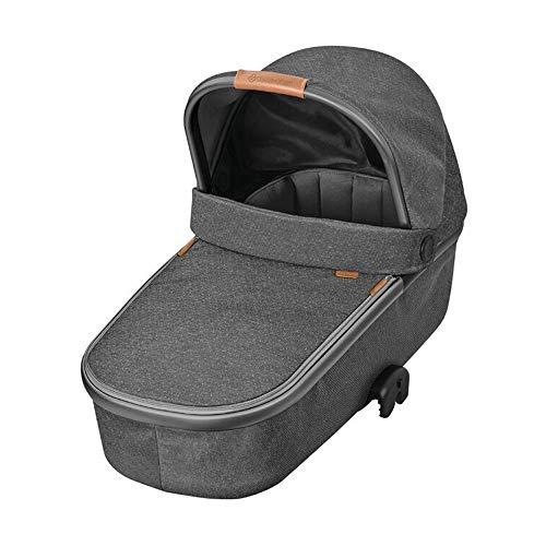 Maxi-Cosi Oria Babywanne, groß, bequem und federleichter Kinderwagenaufsatz, geeignet für Maxi-Cosi-Kinderwagen/Buggys, nutzbar ab der Geburt - 6 Monate, (ca. 0-9 kg), sparkling grey (grau)