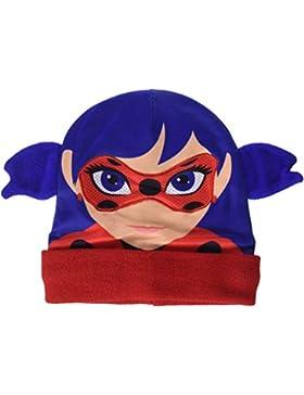 Gorro Azul y Rojo de Ladybug 20x21 cm