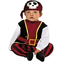 My Other Me - Disfraz de bebé pirata, 0-6 meses (Viving Costumes 203276)
