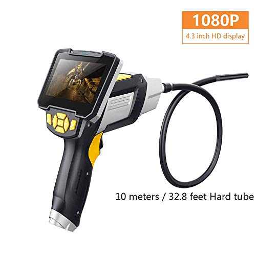 HACNKJ 4,3 Zoll Industrie Endoskop 1080P Inspektionskamera Für Auto WiFi Repair Tool Hard Handheld, D