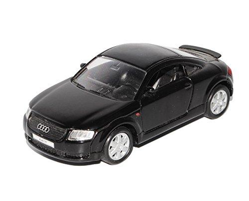 Welly A-U-D-I TT 8N Coupe Schwarz 1. Generation 1998-2006 ca 1/43 1/36-1/46 Modell Auto mit individiuellem Wunschkennzeichen