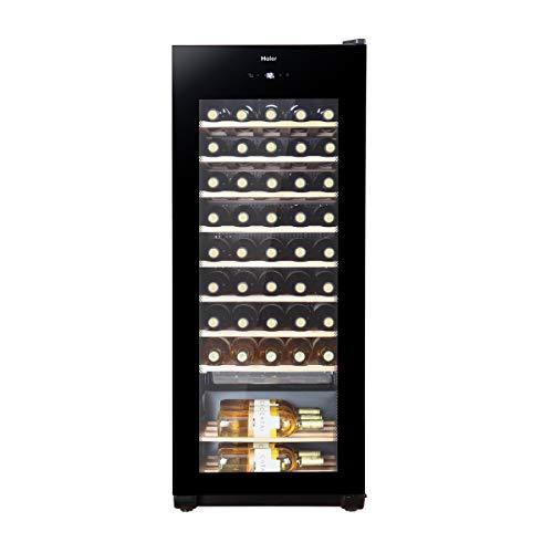 Haier WS50GA Weinkühlschrank/127 cm Höhe/LED Display zur Temperatureinstellung, Temperaturalarm