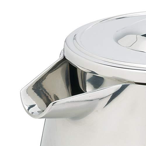 Kitchen Craft Le'Xpress Caffettiera in acciaio INOX a doppia parete, da 8 tazze, 1 l