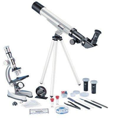 Eduscience TM237 900X - Kit microscopio telescopio