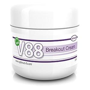 V88 Crema Para Brotes Con Ácido Salicílico Para Granos Puntos Negros Imperfecciones y Piel Problemática SIN Parabenos 50…